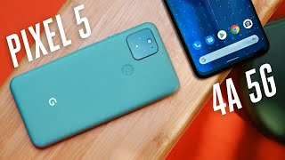 Pixel 5 and 4A 5G review: classic Google thumbnail