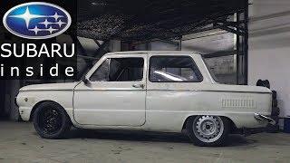 ЗАЗ с двигателем SUBARU // Уникальная подвеска на ЗАЗ готова