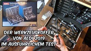 ALDI Werkzeugkoffer Elite DURO - Ausführliches Review und Unboxing 2019