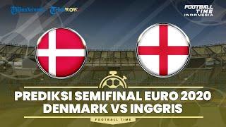 FOOTBALL TIME: Prediksi Starting Line Up Semifinal Piala Eropa Euro 2020, Denmark vs Inggris