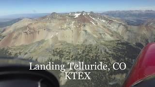 Landing Telluride, CO (KTEX)