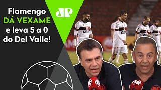 Flamengo deu vexame: Comentaristas falam sobre goleada na Libertadores