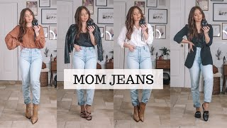 How To Style Mom Jeans | 8 Outfits