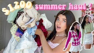 $1200 Trendy Summer Try On Clothing Haul 2020!