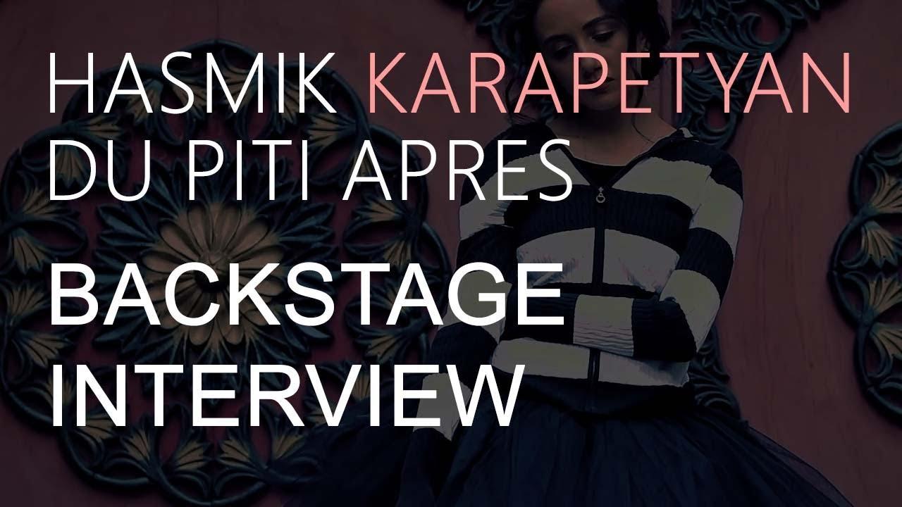 Making of Hasmik Karapetyan's 'Du Piti Apres' // English Subtitles