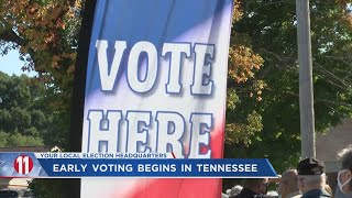 Early voting begins in Tennessee