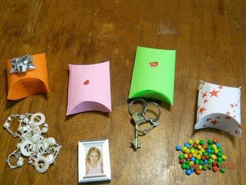 Como hacer un estuche para regalo. Gift box