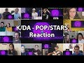 "K/DA - POP/STARS Music Video ""Reaction Mashup"""