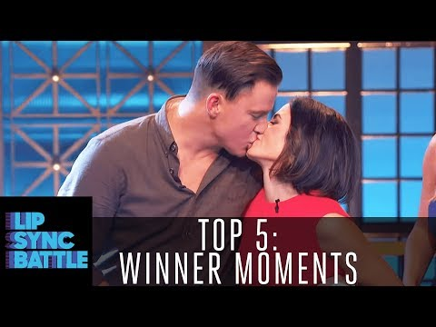 Top 5 Winner Moments: From Channing Tatum to Dwayne Johnson | Lip Sync Battle