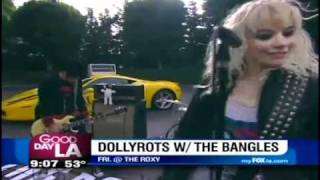 The Dollyrots on Good Day L.A.'s Weekend Roundup 11/18/10