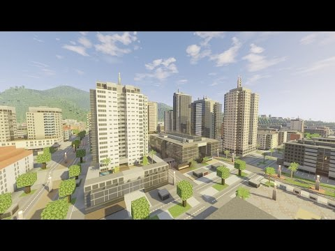 minecraft city texture pack pc download