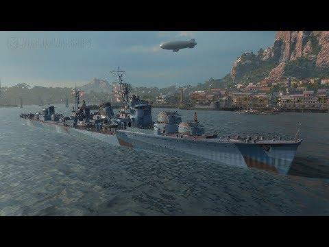Харугумо - вооружен и опасен (World of Warships)
