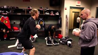 Blackhawks Road Trip with Paul Goodman (Strength and Conditioning Coach)