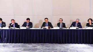 Приветственное слово Б. Сагинтаева в адрес участников форума «Франция – Казахстан» (26.04.2018)
