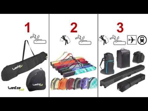 Ski / Snowboard - Wie Sie Ihre Ski  und Snowboard Taschen wählen - Sport
