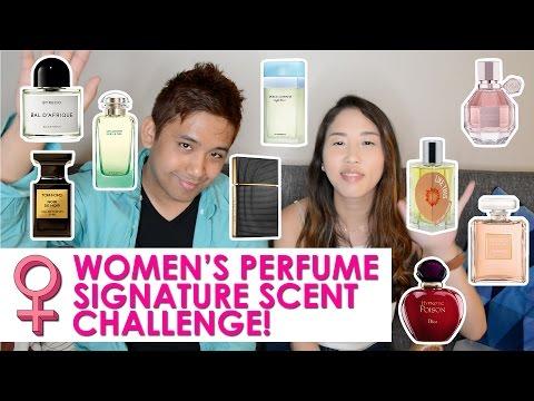 WOMEN'S PERFUME SIGNATURE SCENT CHALLENGE!   CascadeScents