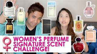 WOMEN'S PERFUME SIGNATURE SCENT CHALLENGE! | CascadeScents