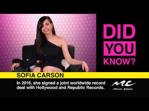 Sofia Carson Wants to Hang With Ed Sheeran: Did You Know?