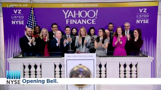YAHOO FINANCE (NYSE: VZ) RINGS THE NYSE OPENING BELL®