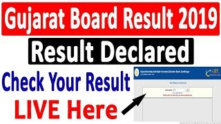 Gujrat Board Result 2019 Out | GSEB Result Out | GSEB Result 2019 | GSEB 12th Result 2019 Declared
