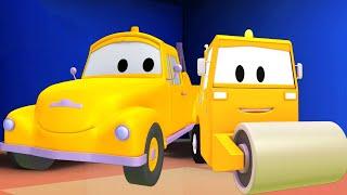 Odtahové auto pro děti - Parní válec
