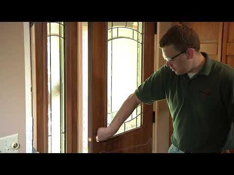 Exterior Door With Sidelite Installation
