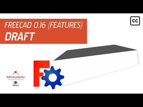 FreeCAD Tutorial creating a Part Design LOFT - смотреть