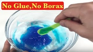 How to make crystal clear slime with 2 ingredient slime with glue testing 2 ingredient slime recipes no glue no borax no detergent slime ccuart Gallery