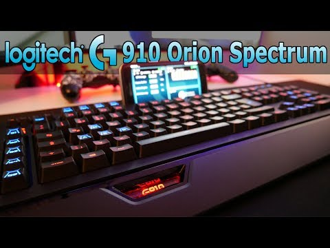 DIE BESTE GAMER TASTATUR ?! LOGITECH G910 ORION SPECTRUM | REVIEW & UNBOXING | DEUTSCH