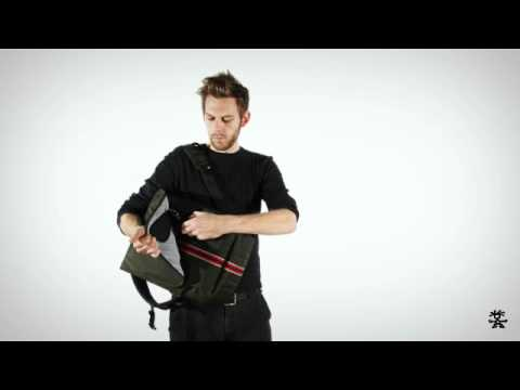 The Ziptease Laptop Backpack Collection from CRUMPLER