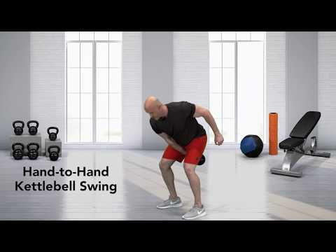 Kettlebell Alternating Swing Catch