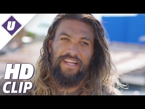 Aquaman - Behind The Scenes With Jason Momoa
