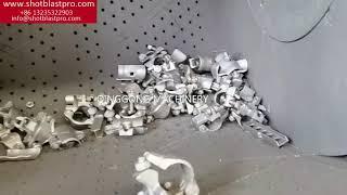 Tumble belt shot blasting machine youtube video