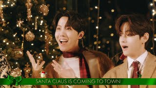BTS Sings \'Santa Claus Is Comin\' To Town\' - The Disney Holiday Singalong