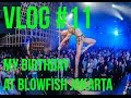 VLOG 11 My Birthday Party at Blowfish with CYBERJAPAN