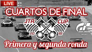 🔴 Directo de Gran Turismo Sport - JTR Cup   Cuartos de final - Primera y segunda ronda