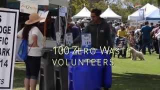 Let's Get to Zero! 2015 Earth Fair, San Diego