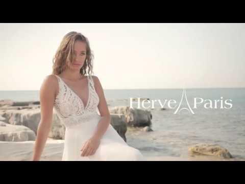 Herve Paris trouwjurk