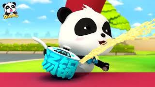 Dapur Ajaib Bayi Panda Kiki   Kartun Anak   Bahasa Indonesia   BabyBus