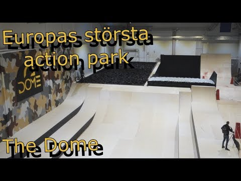 Europas största |Action Park| The Dome