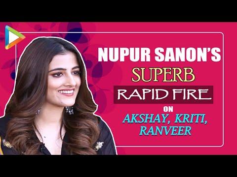 "Nupur Sanon: ""SEXIEST man in Bollywood is...""   Favourite Akshay Kumar film  Rapid Fire   Filhall"