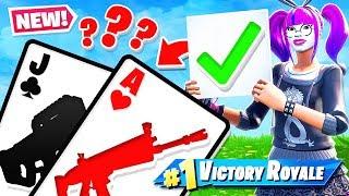 BLACKJACK *21* Card Game GAME MODE in Fortnite Battle Royale