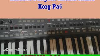 Karaoke Dangdut Rhoma Irama KORG Pa600 KEHILANGAN