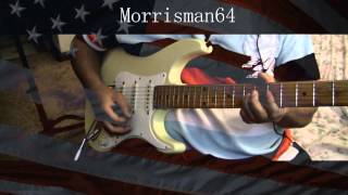 """Funkadelic """"ONE NATION UNDER A GROOVE"""" Guitar play along"""