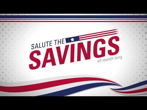 Salute the Savings - Mattress