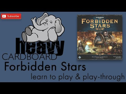 Forbidden Stars 3p Play-through, Teaching, & Roundtable by Heavy Cardboard