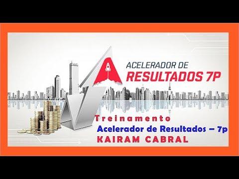 Treinamento ➽ Acelerador de Resultados – 7p ➽ KAIRAM CABRAL