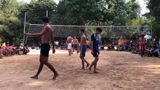 Bóng chuyền Ngang cầu . Niet savanh vs Thường