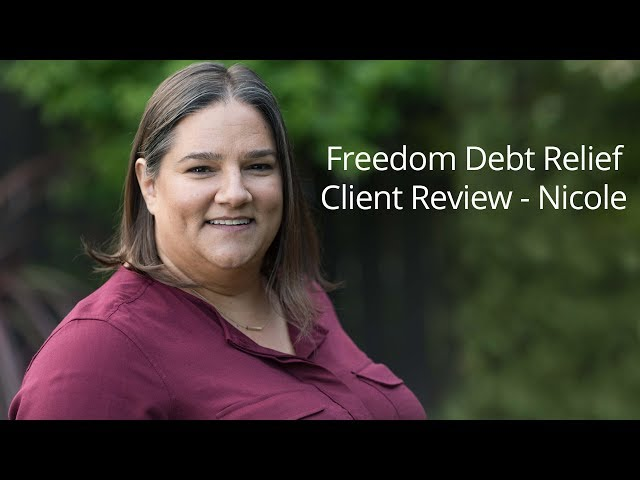 Freedom Debt Relief helped Nicole relieve her financial stress, so she could focus on being a great parent to her daughters.