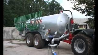 preview picture of video 'CREINA Kranj Cinkana tandem cisterna, 14. tisoč litrov (S-TV Skledar)'